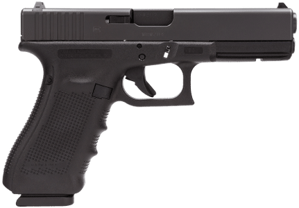 Glock 17 Gen4 9mm Pistol Gun Works
