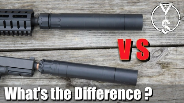 Silencer vs Suppressor